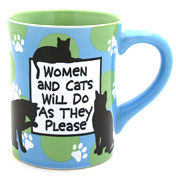 Our Name Is Mud Women & Cats Mug